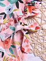 Flower Frilled Baby Girl Summer Bodysuit Romper