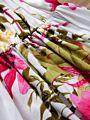 Fashion Flower Print Baby Suspender Dress