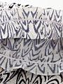 2-Piece Printed Off Shoulder Jumpsuit Matching Headband