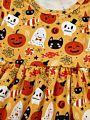 Baby Toddler Girl Halloween Theme Dress