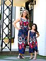 Mom and Me Vintage Style Printed Sundress
