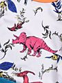 2-Piece Fall Cartoon Dinosaur Set T-shirt & Pants