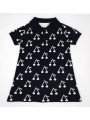 Cute Mum and Daughter Cherry Pattern Dress Short Sleeve Parent-child Outfit