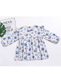 Floral Flutter Sleeve Baby Little Girl Spring Casual Dress