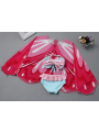 3-piece Stylish kids Bow Tankini Bikini + Butterfly Bathing Suit Cover Up Set