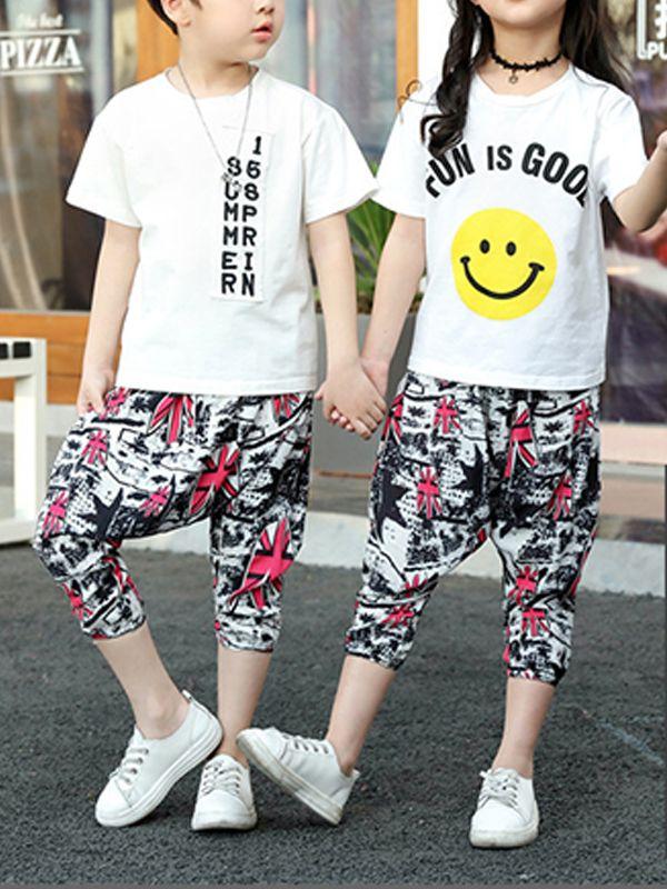 41390e931 ... Kiskissing Cool Cotton Harem Pants Trousers Cartoon Print for Toddlers  Boys wholesale boys clothing ...