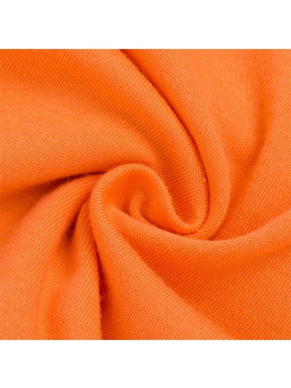 ff0ae23c483 ... Halloween Pumpkin Romper Long-sleeve Jumpsuit Holiday Wear for Baby  Boys Girls