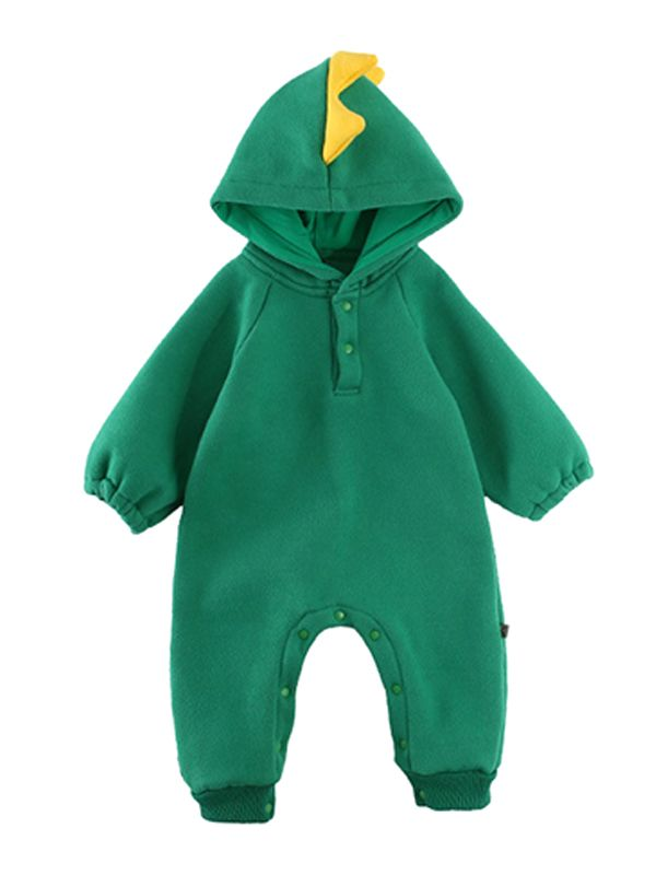 f7c78dcba Tap to expand · Cute 3D Dinosaur Dog Chick Pattern Baby Hoodie Onesies  Romper Jumpsuit ...