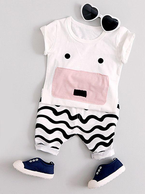 Dfenere 3D Skull Hip Hop Newborn Baby Long Sleeve Bodysuit Romper Infant Summer Clothing