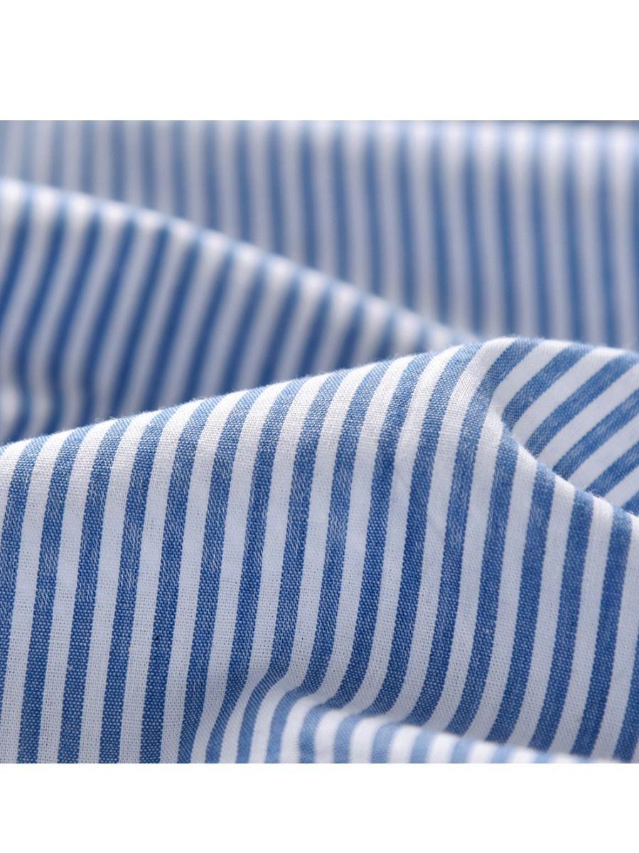243c0462b6 ... Autumn Kids Boys Striped Shirt Tops Tee Long Sleeve Chest Pocket  Children Casual Clothes