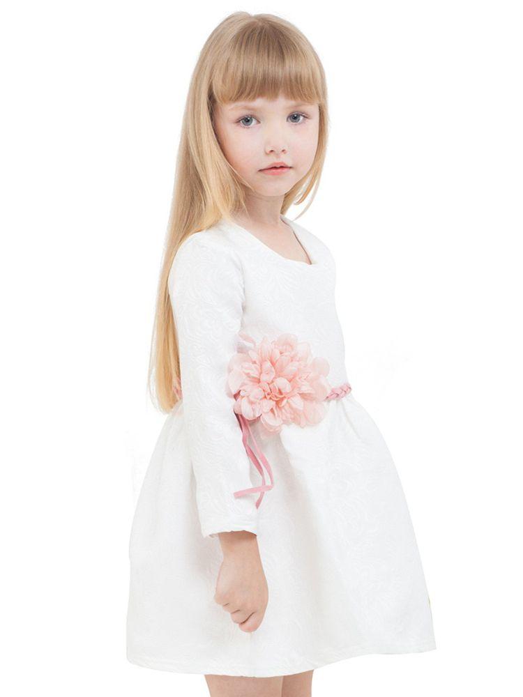 3e1568008cf2 Wholesale Toddler Big Girls Floral White Christening