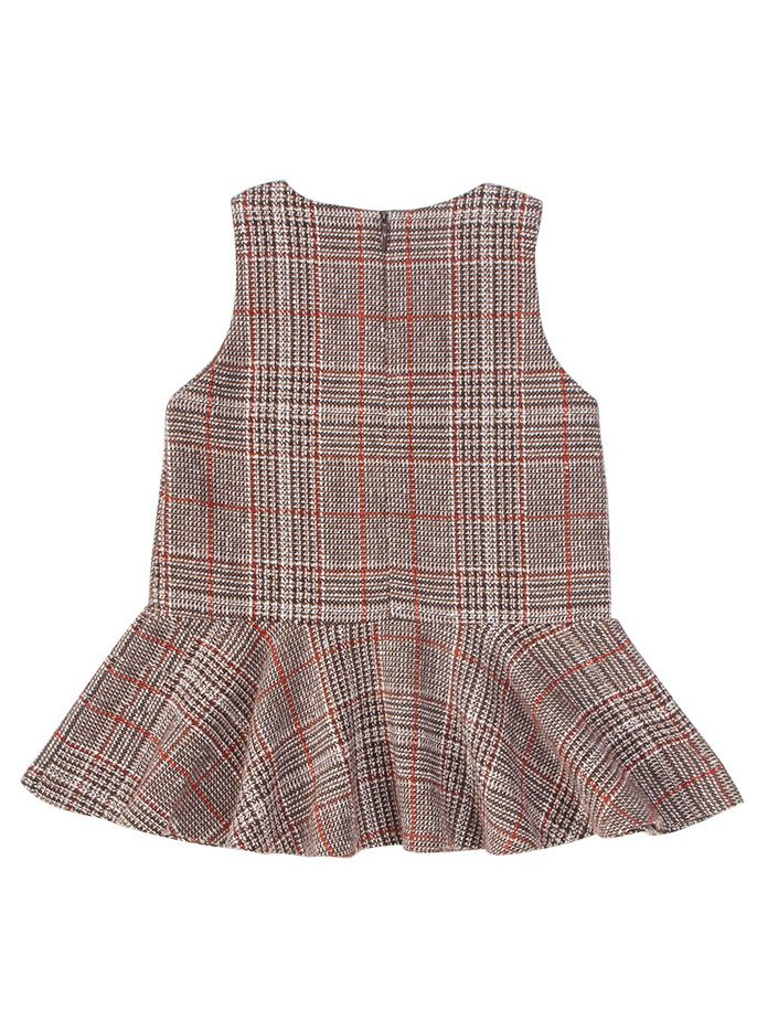 40a75b31c0e2 Wholesale Baby Sleeveless Winter Checked Dress Infant