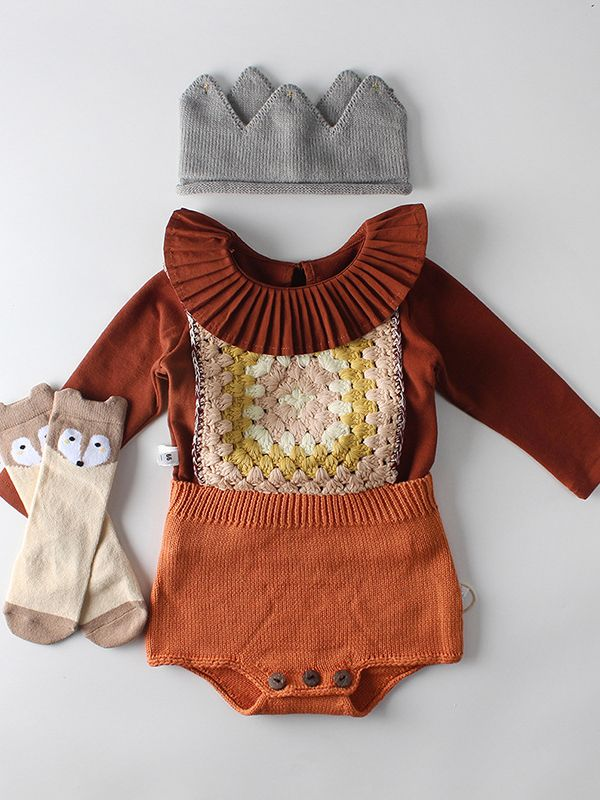 485a8a486 Wholesale Spanish Style Baby Girl Ruffled Collar
