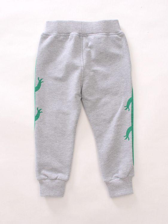 Kihatwin Unisex Baby Toddler Boys Girls Cotton Crocodile Patterns Fleece Long Pants