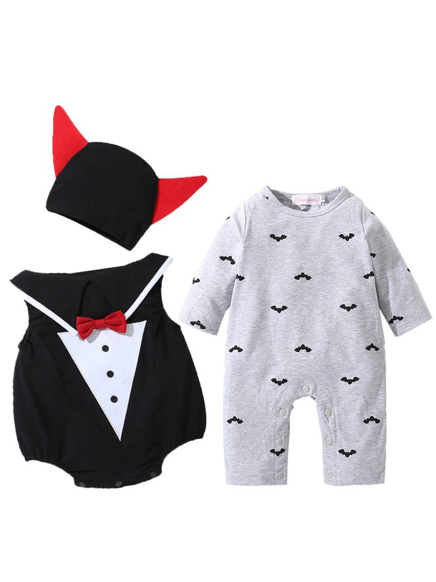 a418043f5f5e Wholesale 3PCS Baby Halloween Costumes Set Devil