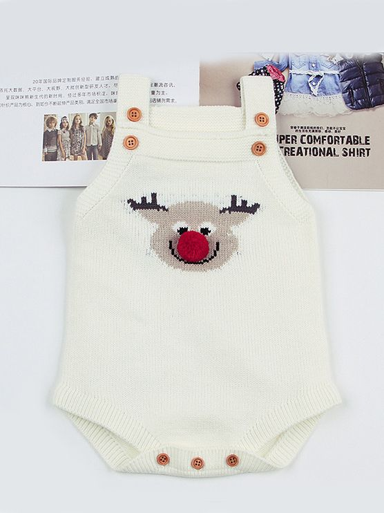 adf7090004c8 Wholesale Adorable Christmas Elk Knitted Suspender
