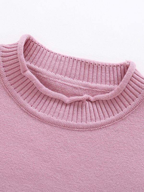 67c4e197a Wholesale Stylish Color-blocking Knitted Sweater