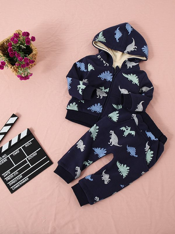 enjoy free shipping fashionable and attractive package new selection Wholesale 2PCS Baby Toddler Boys Winter Jacket Pants