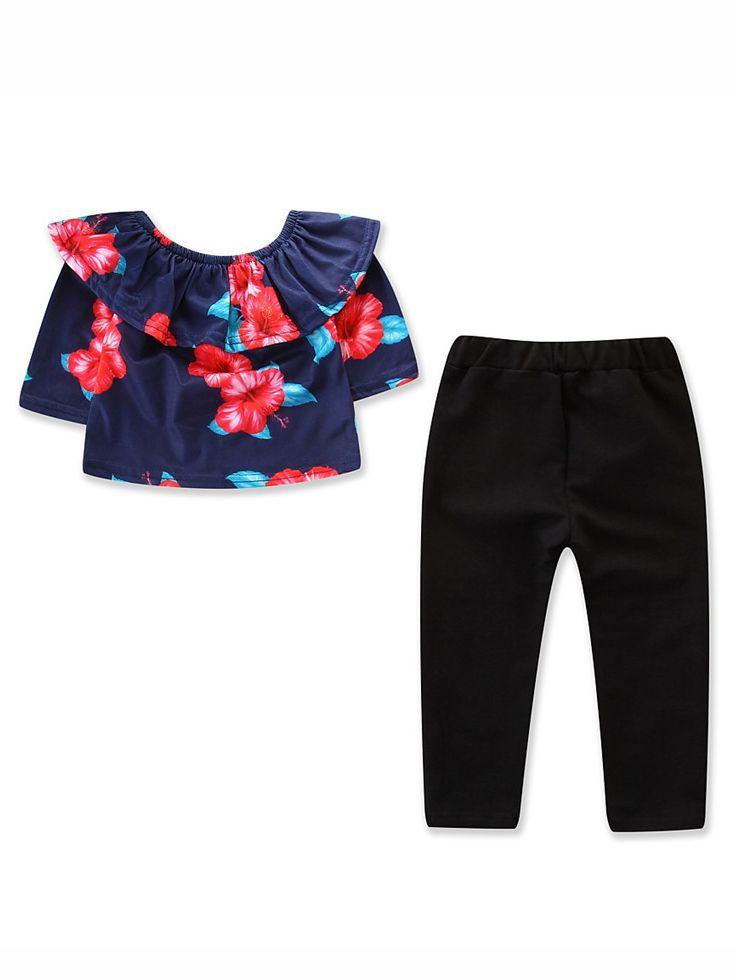 Infant Baby Girl Rainbow Stripe Pant Holiday Birthday Legging Pant 2-7 Years