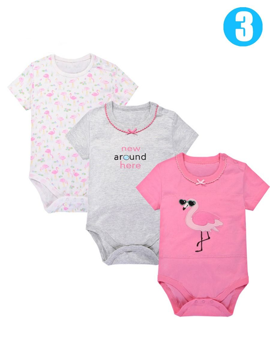 Girls' Clothing (newborn-5t) Qualified Uk 2pcs Newborn Baby Girls Summer Clothes Solid Romper Jumpsuit Bodysuit Outfits