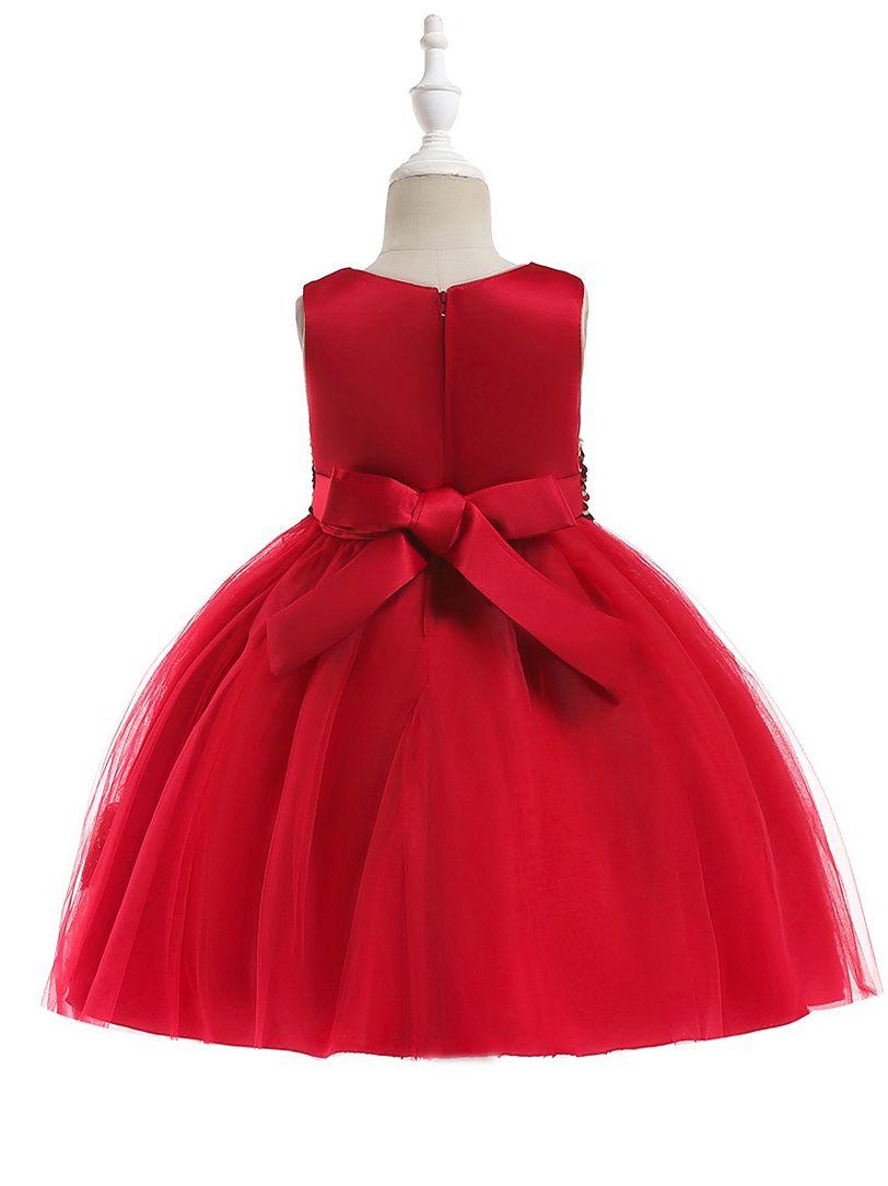 42474abc5 Wholesale Fancy Sequined Lace Bodice Party Dress Kids