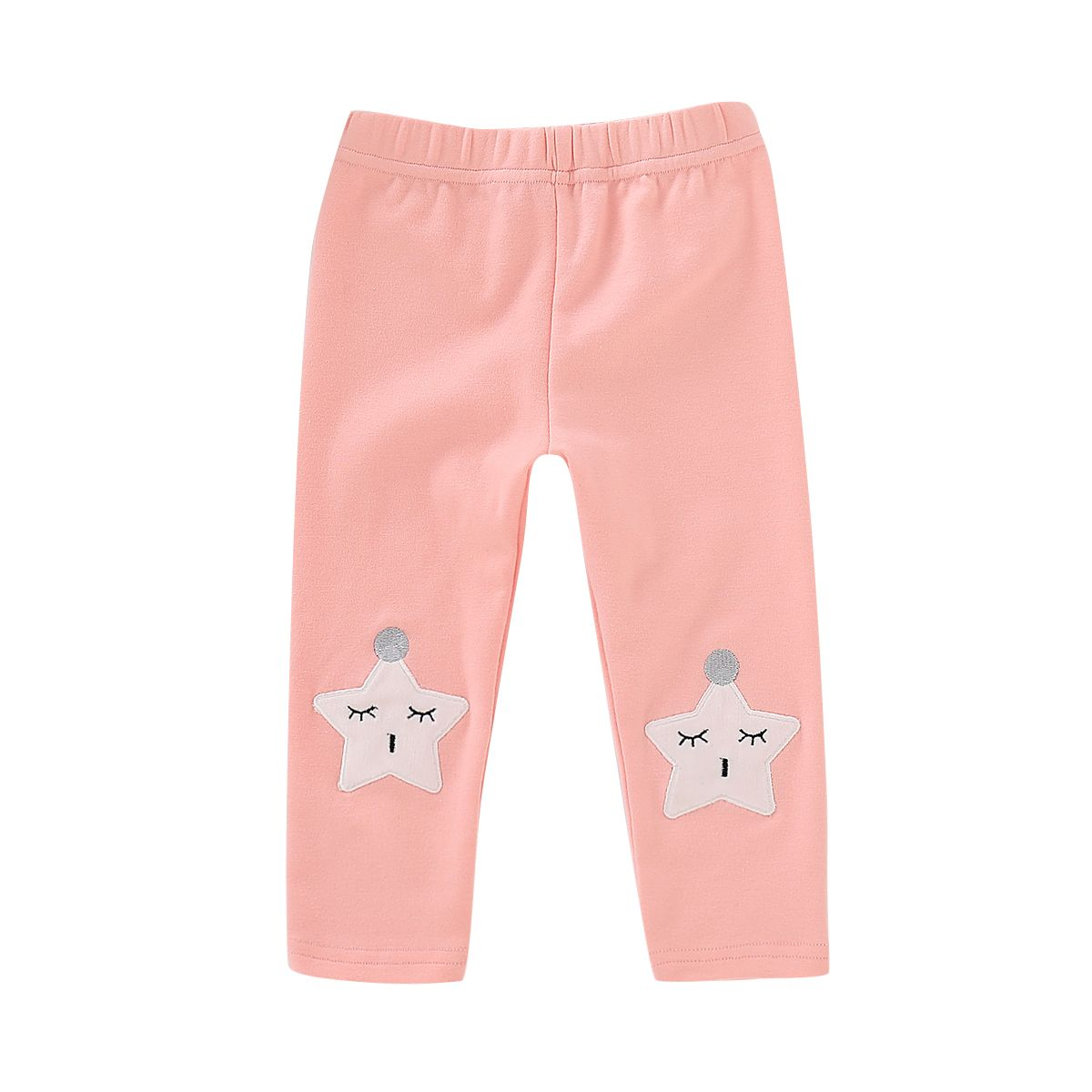 8cb43caf85fd4 Toddler Big Girl Star Pink Leggings Children Footless Tights ...