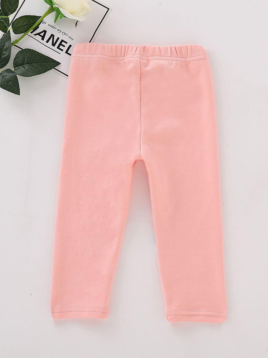6e39f34d14cc5 ... Toddler Big Girl Star Pink Leggings Children Footless Tights ...