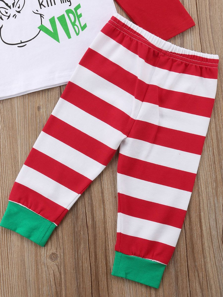 ... 2-Piece Baby Christmas Costume Outfit Set GRINCH DON T KILL MY VIBE  Color ead593b96f3d