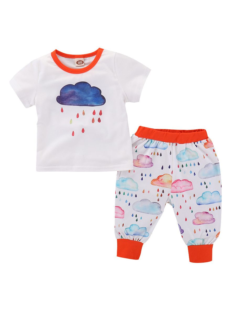 cf967920c Wholesale 2-piece Baby Boys Girls Summer Clothes