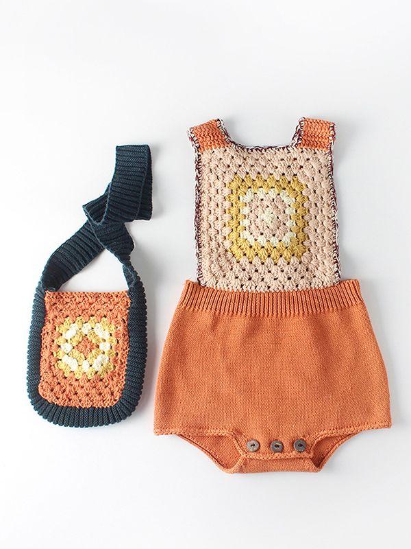 ... Fancy Infant Toddler Girl Vintage Hand-made Crochet Shoulder Bag ...