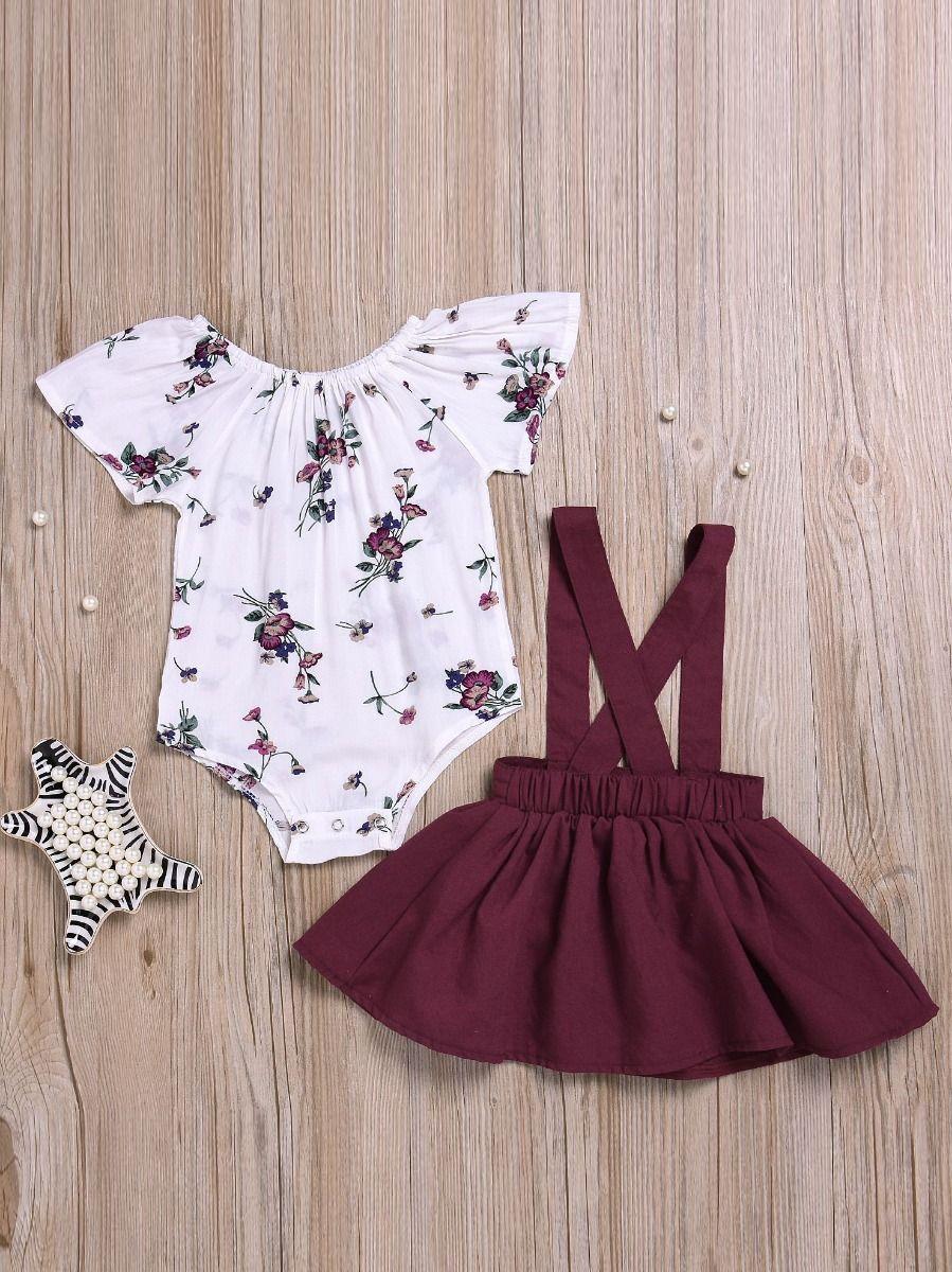 ae8ab9f4999b Wholesale 2-piece Newborn Infant Girl Summer Dresses