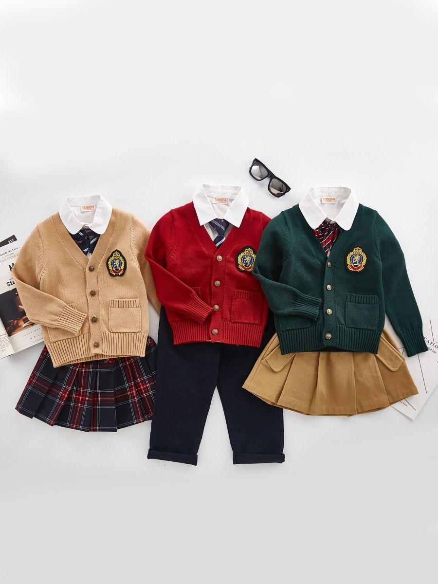 School Uniform 5-Piece Headband Set