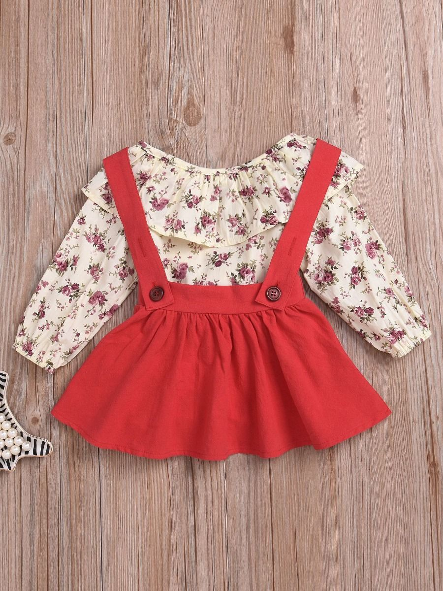 Wholesale 2 Piece Baby Toddler Girl Spring Casual