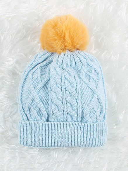ad10bfeb0 Newborn Baby Pom Cable Knit Beanie Hat Wholesale