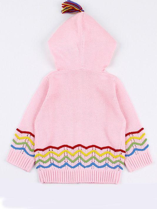 f30837b51dec Wholesale Baby Boys Girls Knit Hooded Cardigan Infant