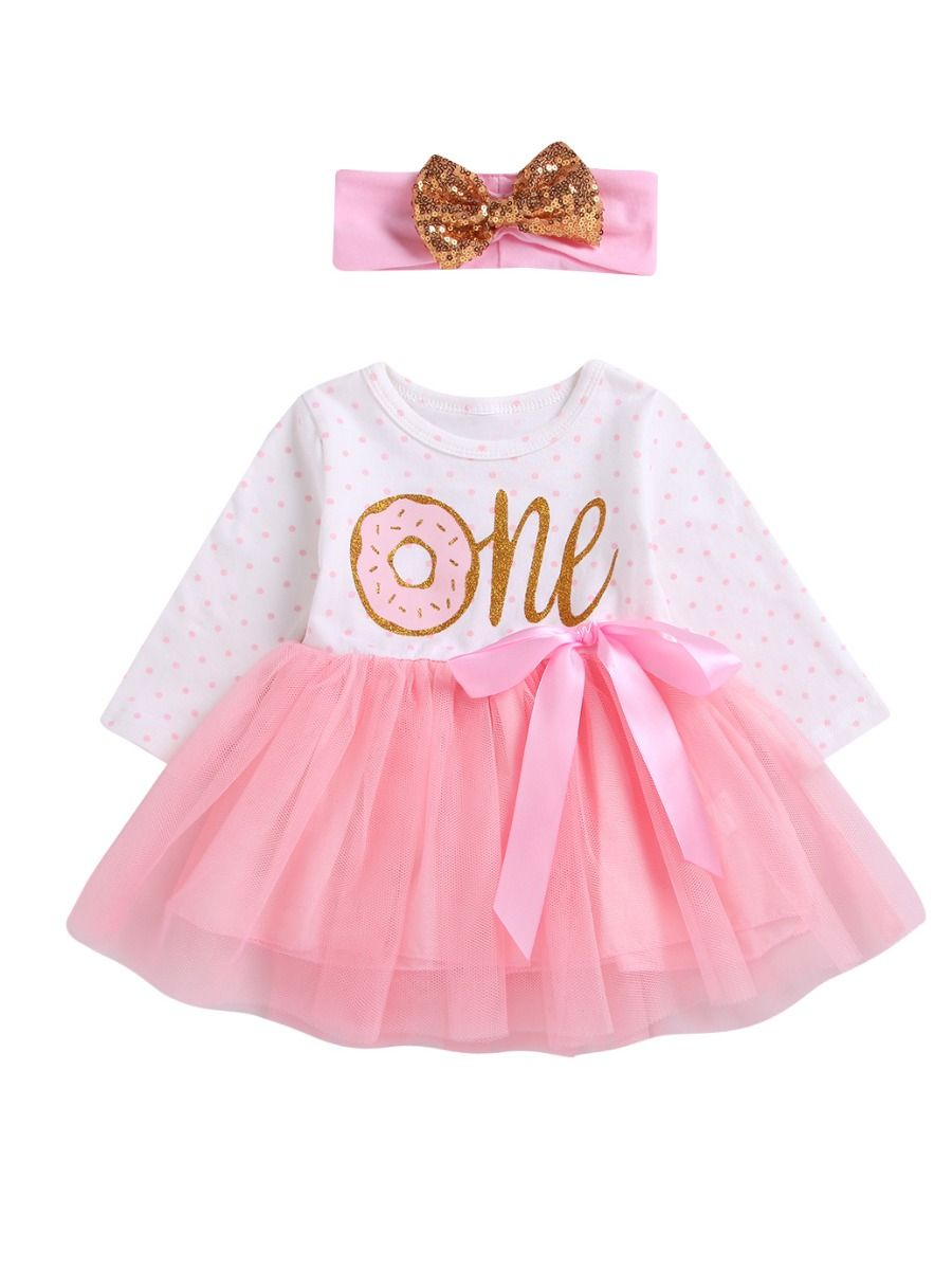 7b659a34 Infant Girl Tulle Patchwork Bow Party Dress with Sequin Bowknot Headband ...