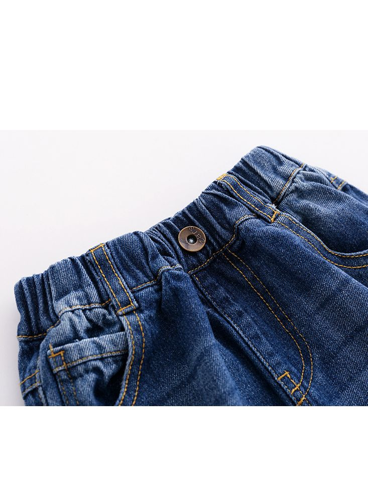 73620a9e ... 5-PACK Spring Little Big Boys Pull-on Jeans Kids Denim Trousers ...