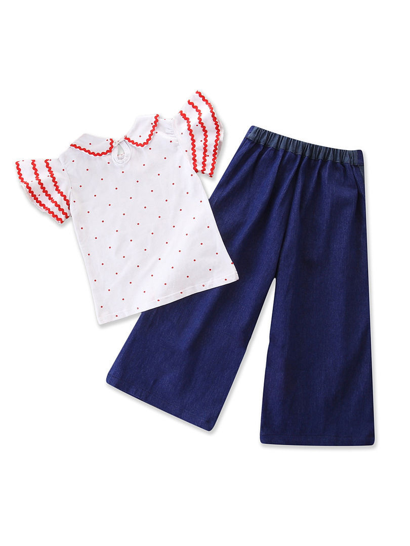 16b7eca42 Wholesale 2-piece Fashion Baby Toddler Girl Peter Pan