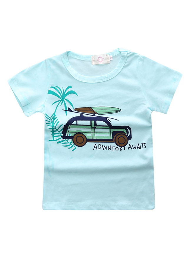 c757215a ... 4-Pack Summer Baby Toddler Big Boys Clothes Outfits 3PCS T-shirts+Jeans  ...