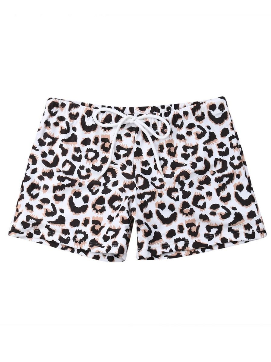 9c6ec2cdaab0b ... Family Matching Leopard Print Swimming Trunks for Father and Son ...