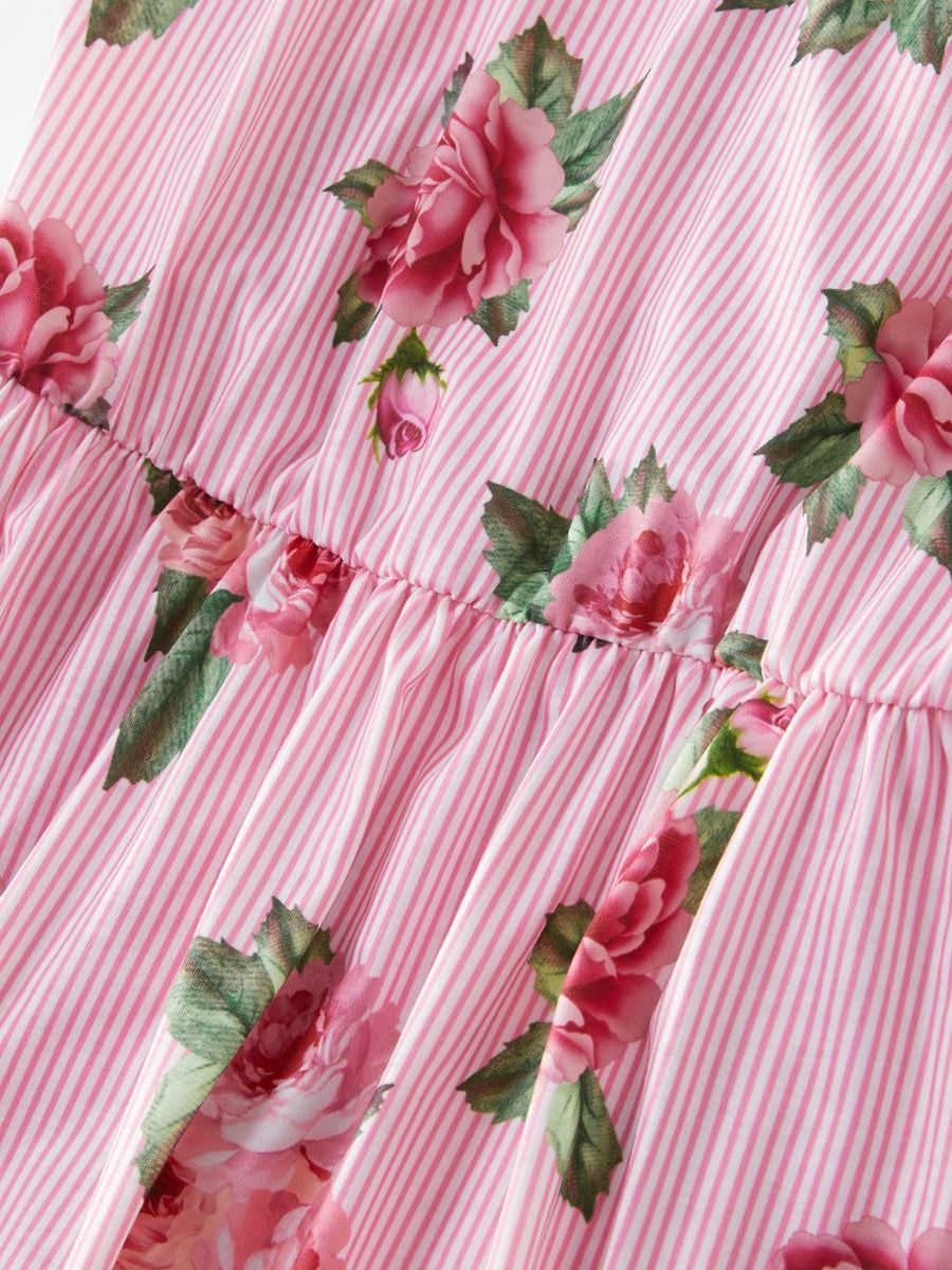 4fc1dc5058 Wholesale Mommy and Me Flower Pinstripe Sundress
