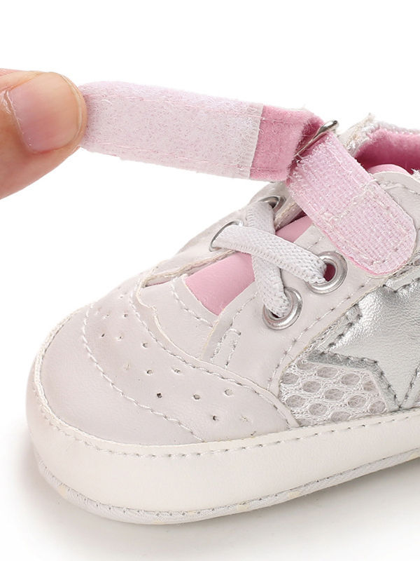 Wholesale Spring Baby Unisex Mesh Crib Shoes 19122701