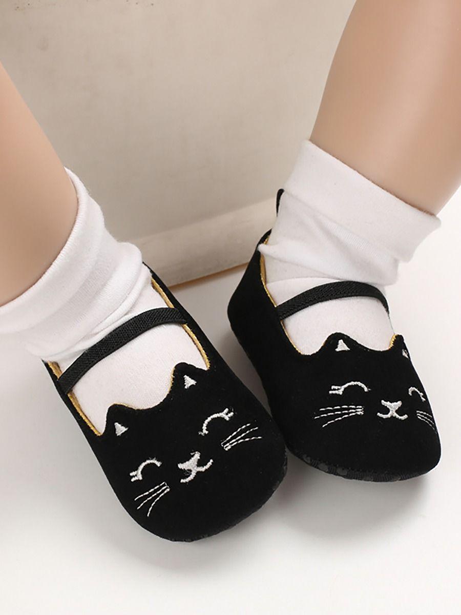 Wholesale T-bar Baby Girl Crib Shoes