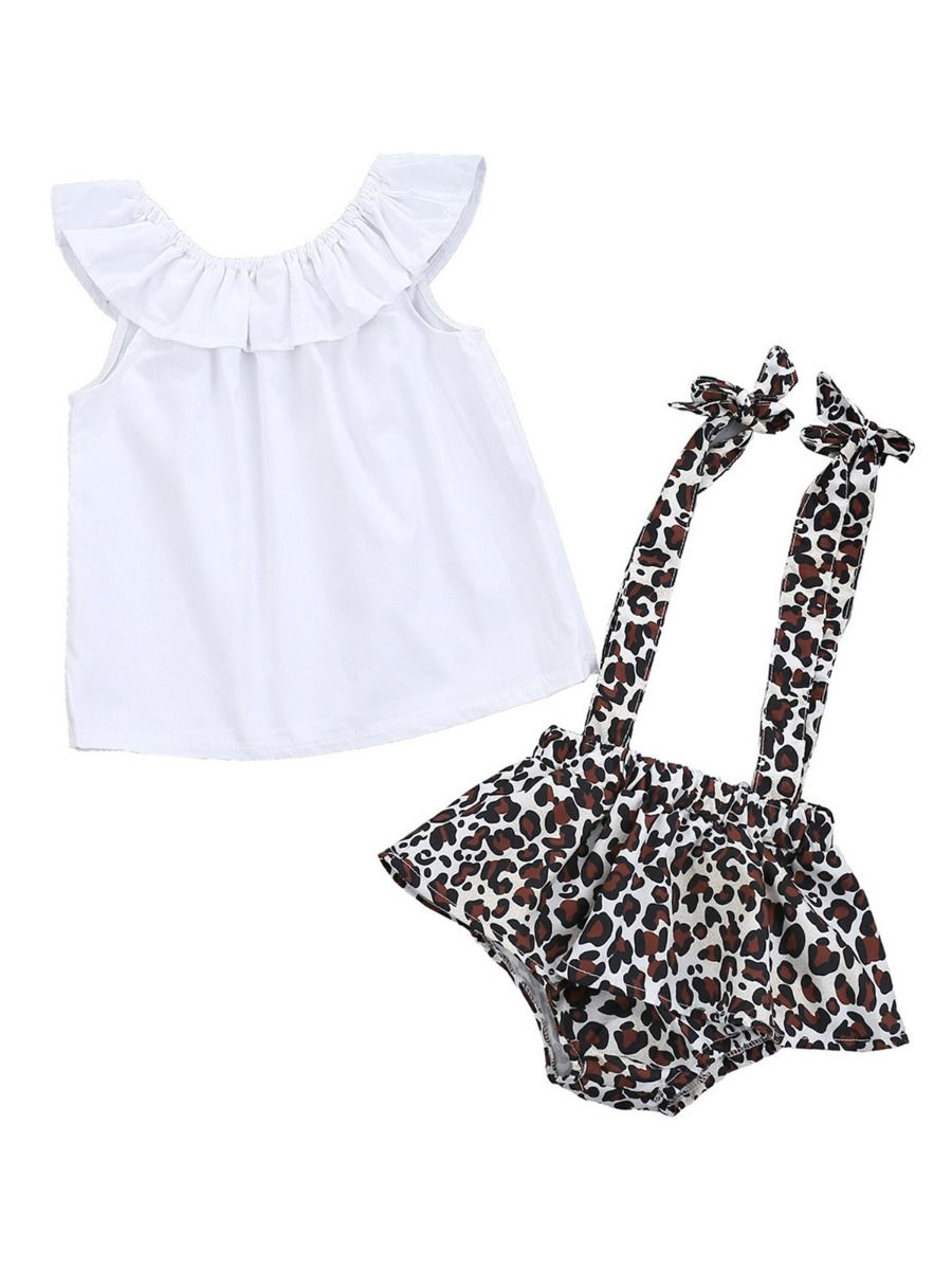 24M Baby Girls Lattice Lace Tops Blouse Shorts Briefs Formal mikplatinumsales 2 Pcs Black