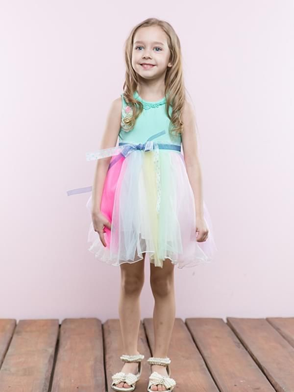 Girls Colorful Dress