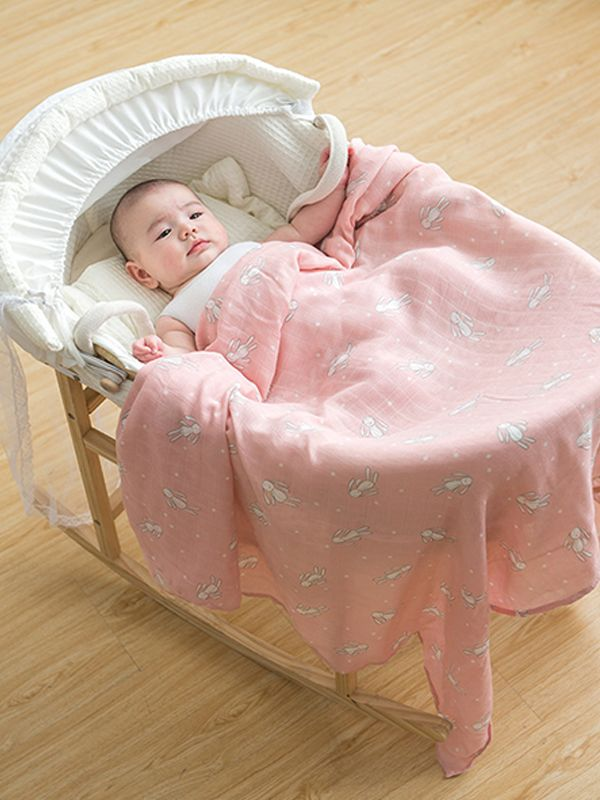 Wholesale Cute Cartoon Print Baby Blanket