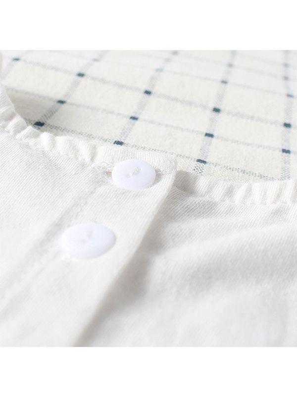 Wholesale White Tulle Dress Like Romper Breathable