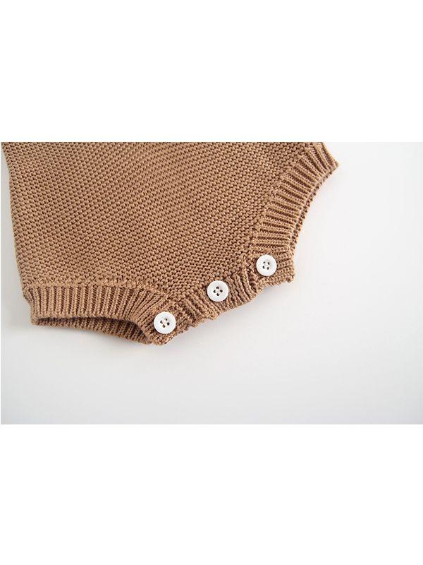 Wholesale Star Heart Woolen Knitted Suspender Baby