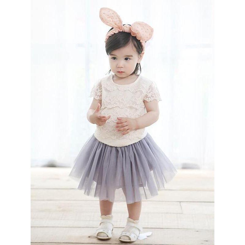 Kiskissing pink Cute Rabbit Ears Pattern Cotton Headband for 0-24M Baby Girls