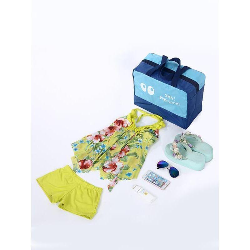 Kiskissing Beach Pool Swimming Storage Bag Swimwear Slippers Towel Toiletries Handbag wholesale baby accessories